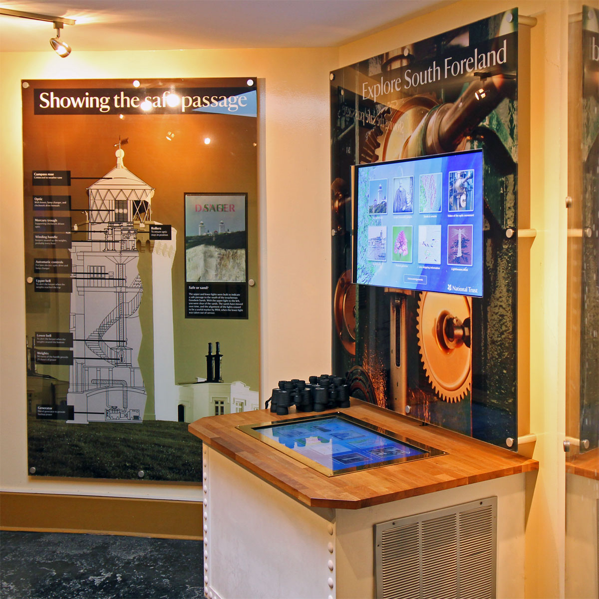 South Foreland Lighthouse exhibition