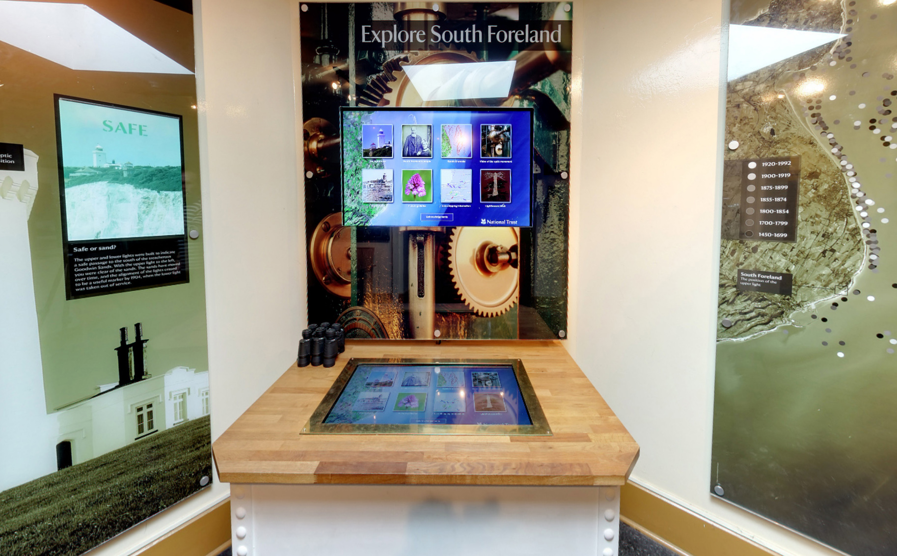 South Foreland Lighthouse interactive exhibit