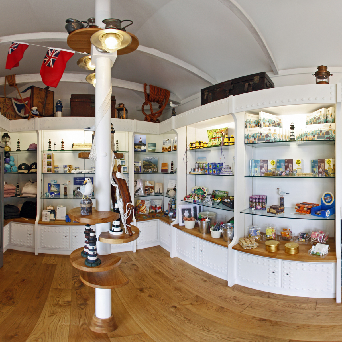 South Foreland Lighthouse shopfittings