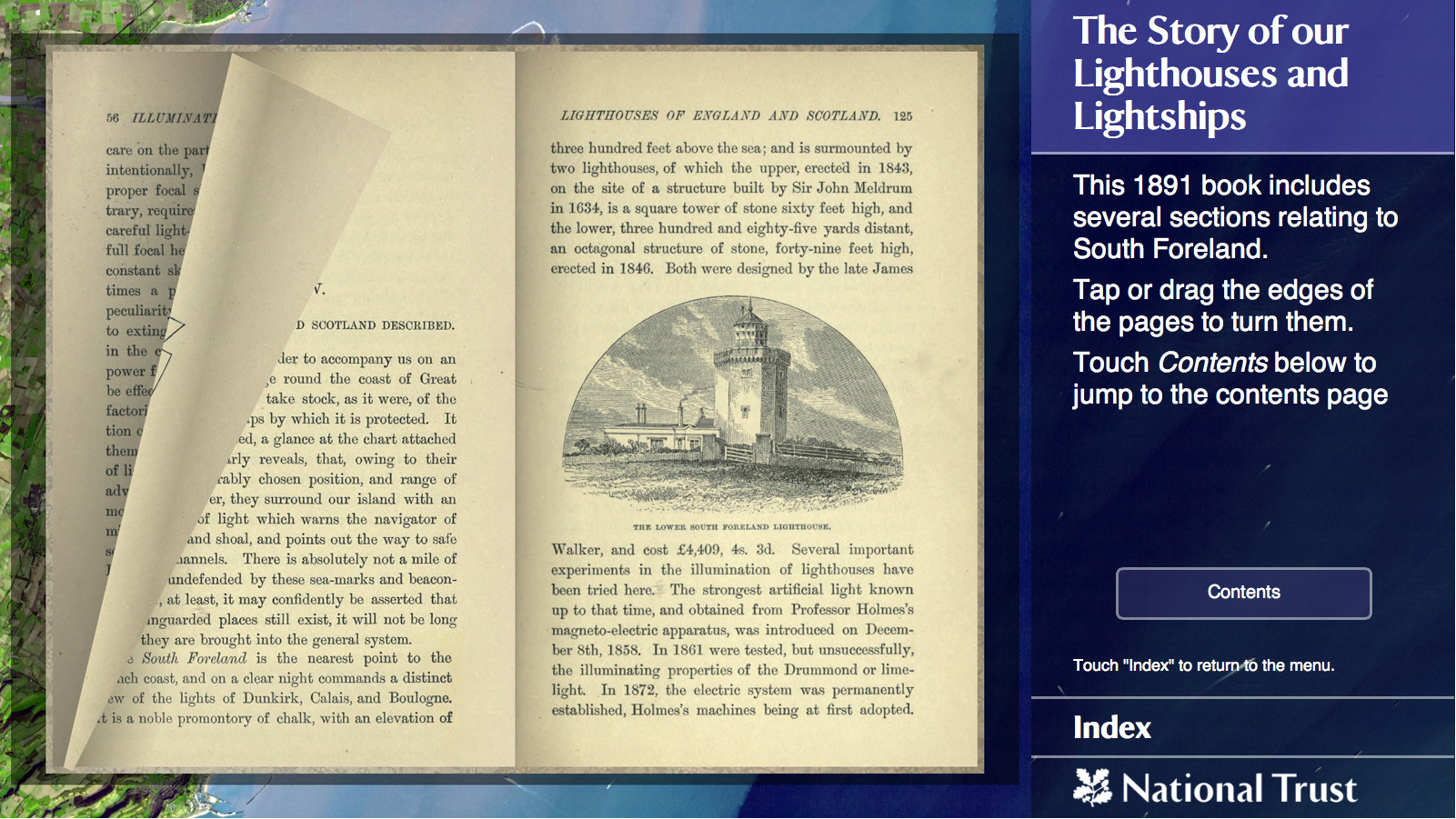 South Foreland Lighthouse Interactive Book